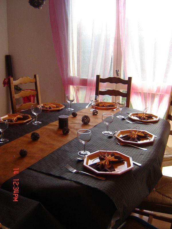 Deco table theme automne - Deco table automne ...